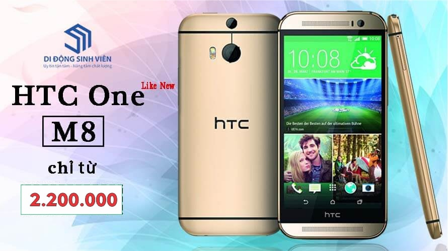 HTC ONE M8 UY TIN RE NHAT HAI PHONG