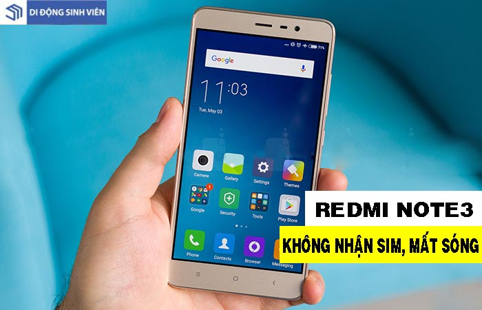 redmi note 3  sua mat song hai phong